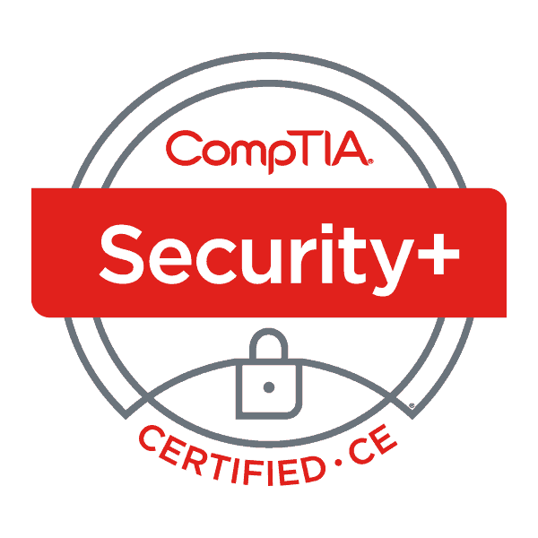 CompTIA Security+ Certified logo